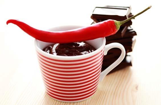 Шоколад горячий жгучий с остринкой