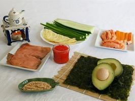 интредиенты суши