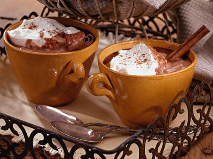 шоколадный напиток по-венски