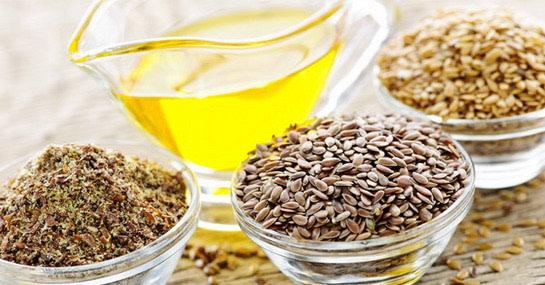 Льняное семя и льняное масло