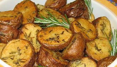 печ картошка