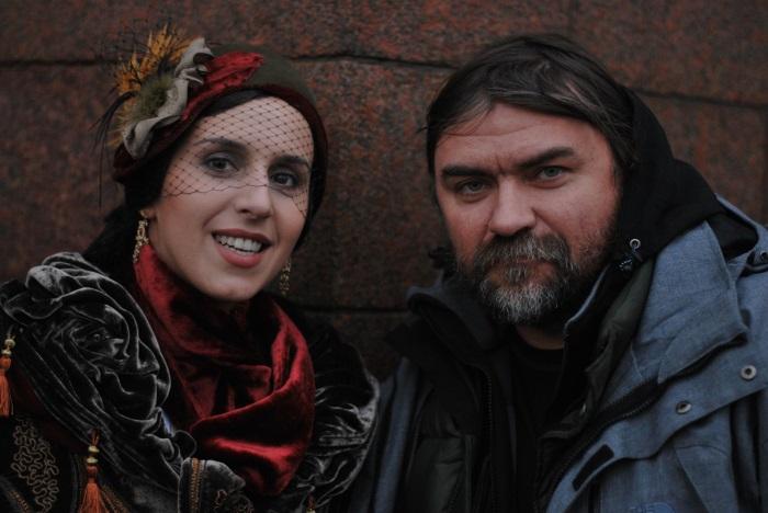 Джамала и Олесь Санин