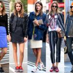 кроссовки - модный тренд
