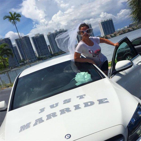 Наташа Королева иТарзан устроили праздник симпатии вМайами