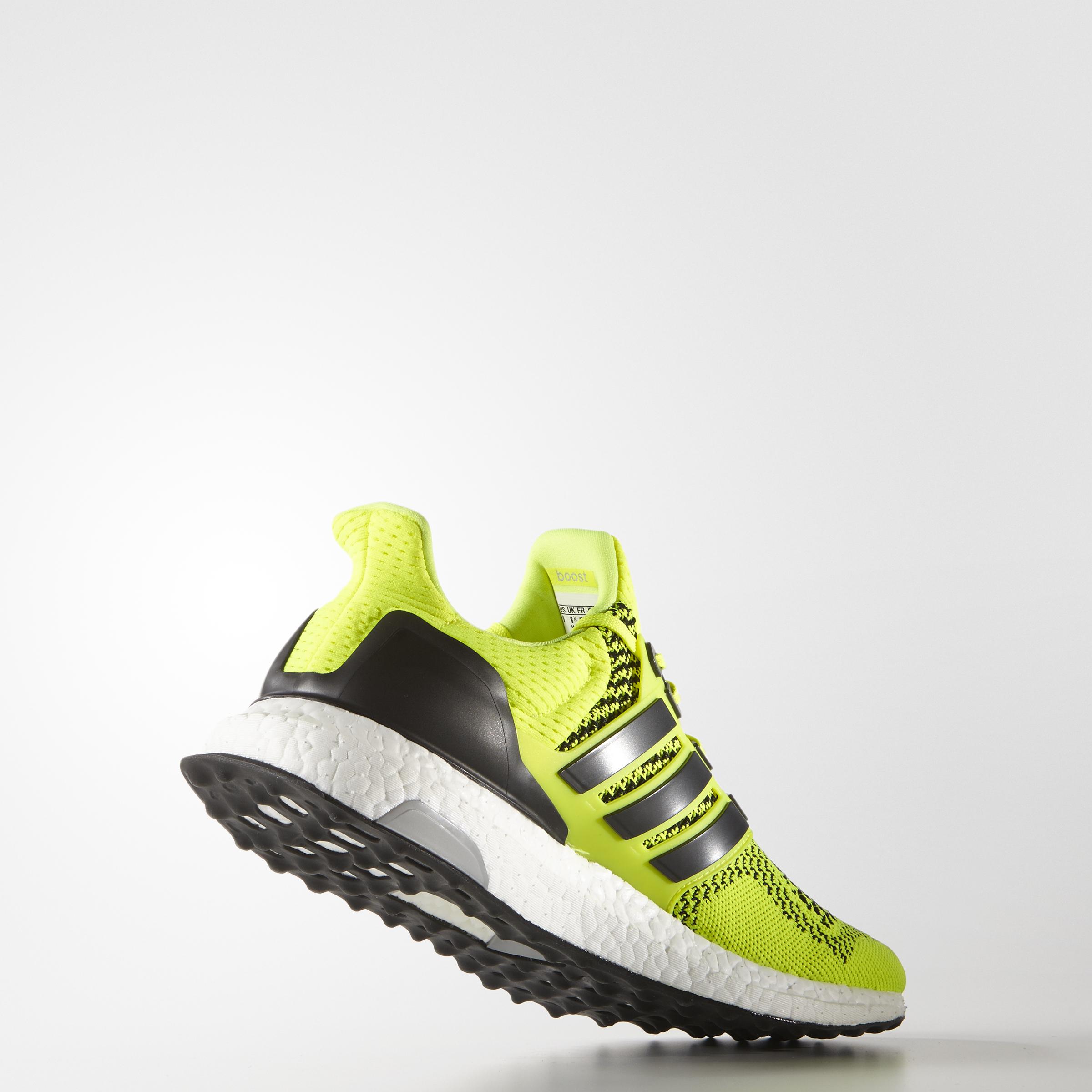 adidas UltraBOOST: солнечные оттенки бега