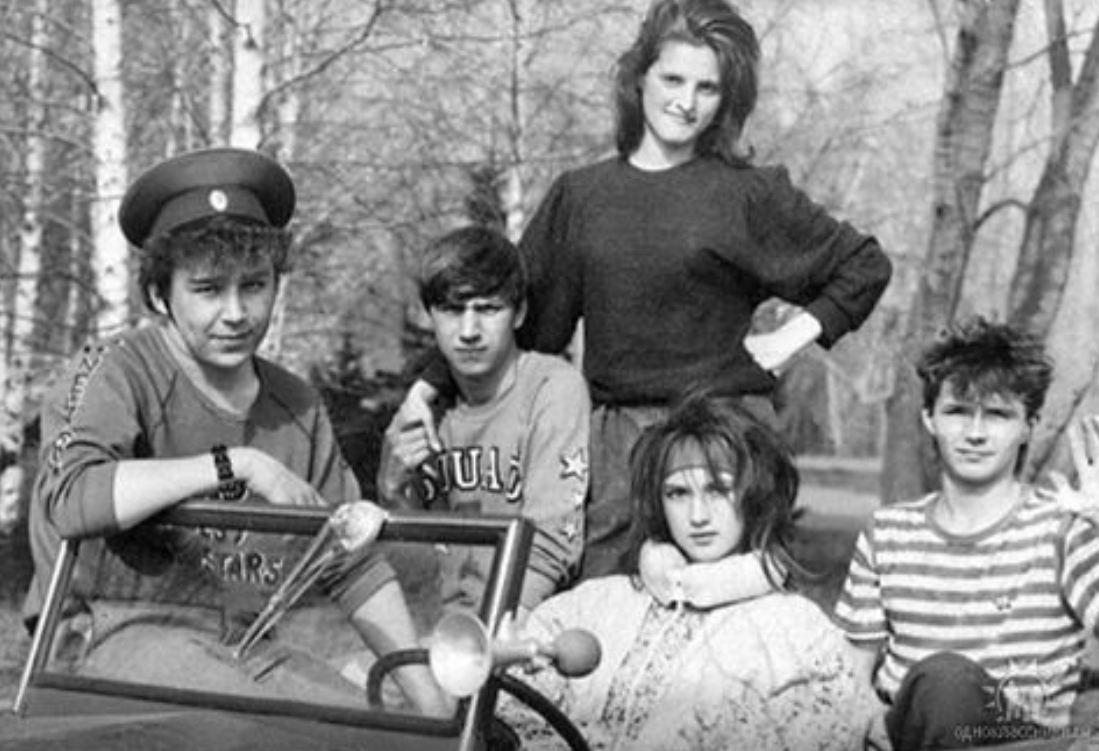 Лера Кудрявцева обнародовала юношеское фото