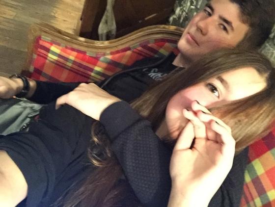 14-летняя дочь Екатерины Стриженовой закрутила роман с17-летним спортсменом