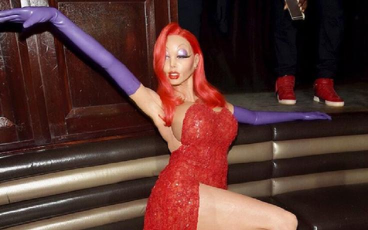 Хайди Клум покорила гостей Хэллоуин-вечеринки