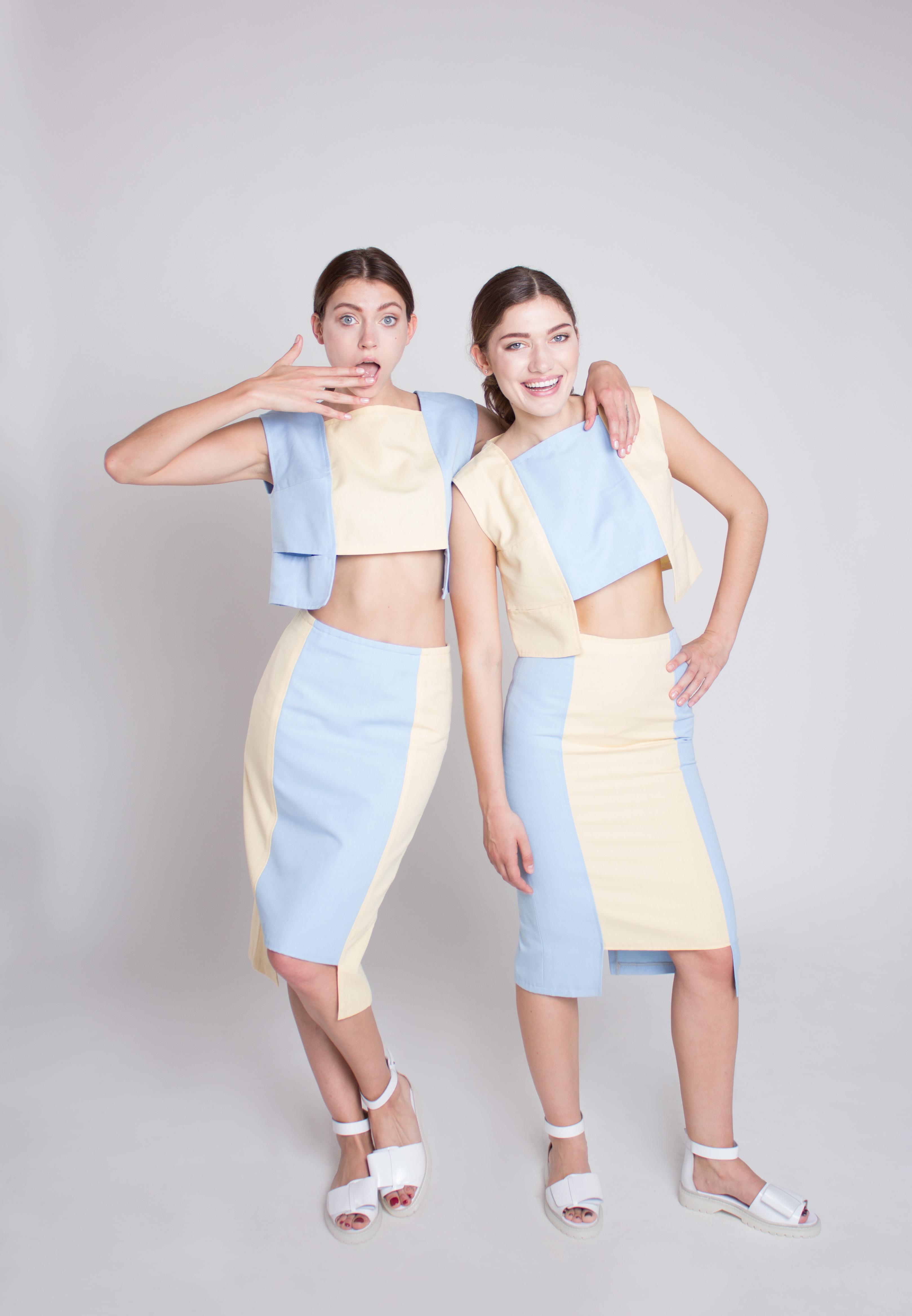 Молодой украинский бренд The Skin представил lookbook дебютной коллекции
