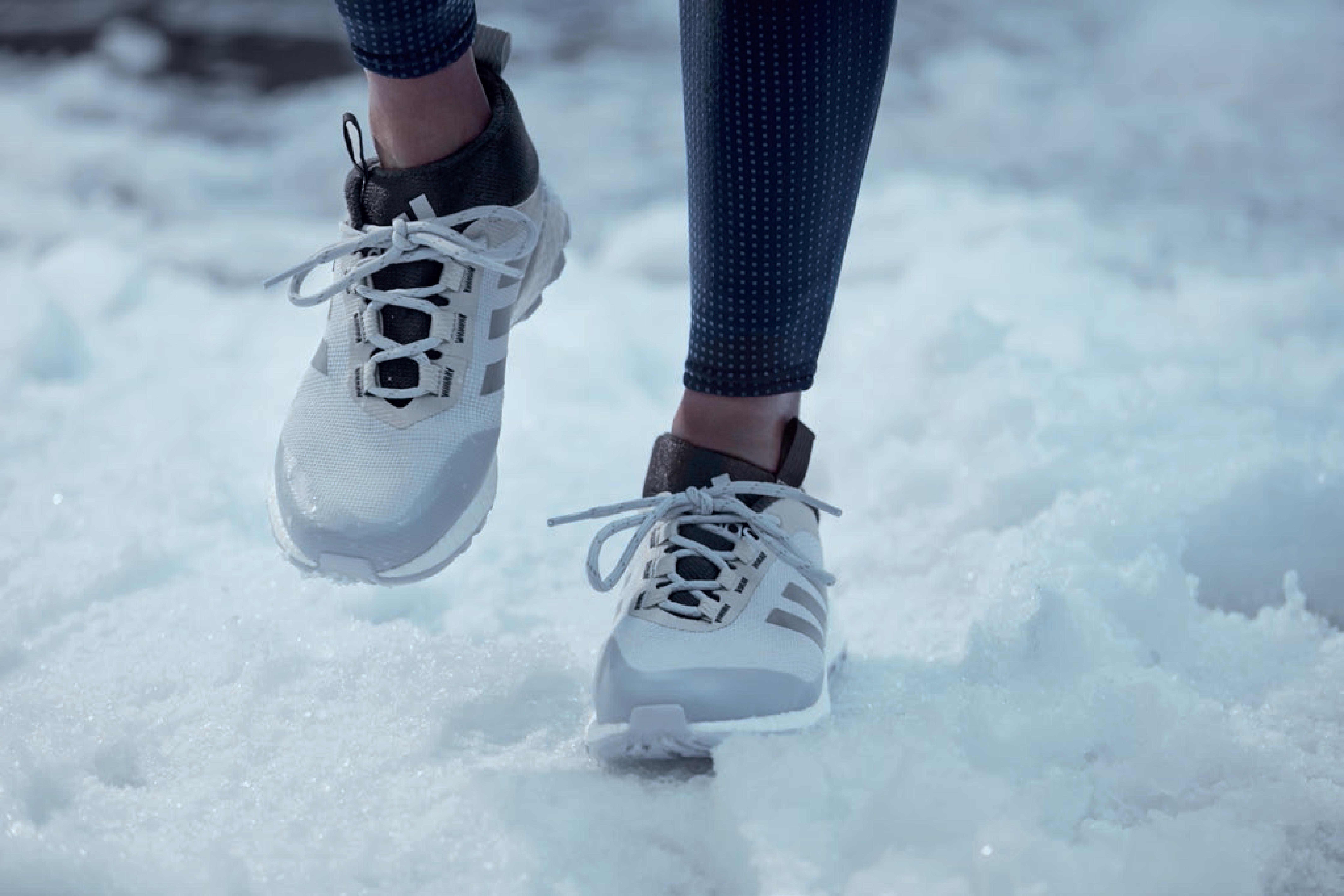 Коллекция зимней одежды для спорта adidas
