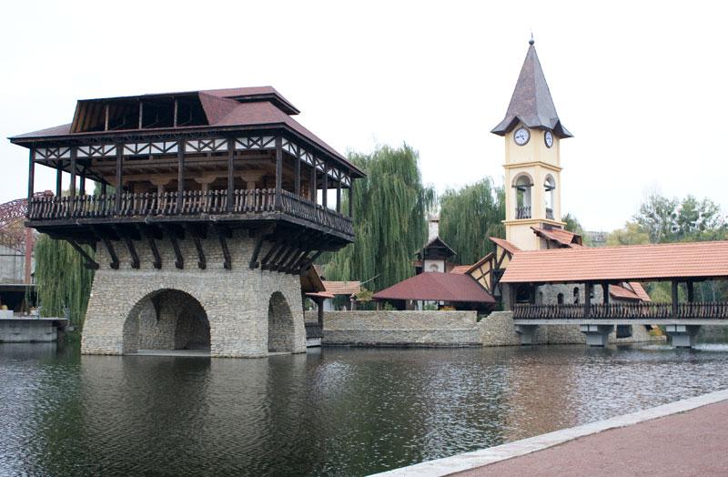 Парк Реформации в Черновцах является уникальным и единственным в мире