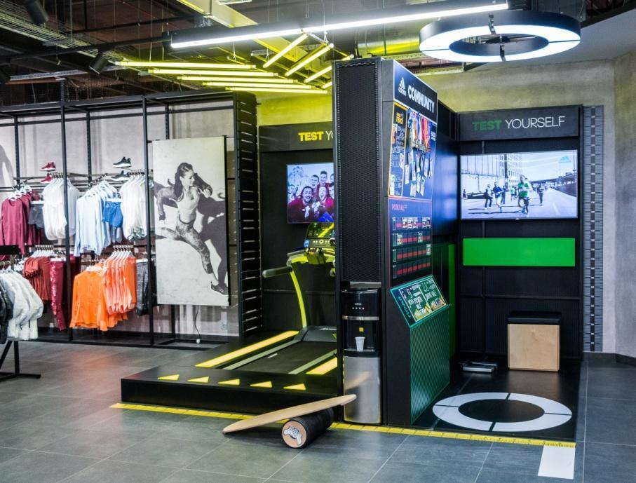 Проверь силу, выносливость, ловкость в зоне Test Yourself в магазине adidas