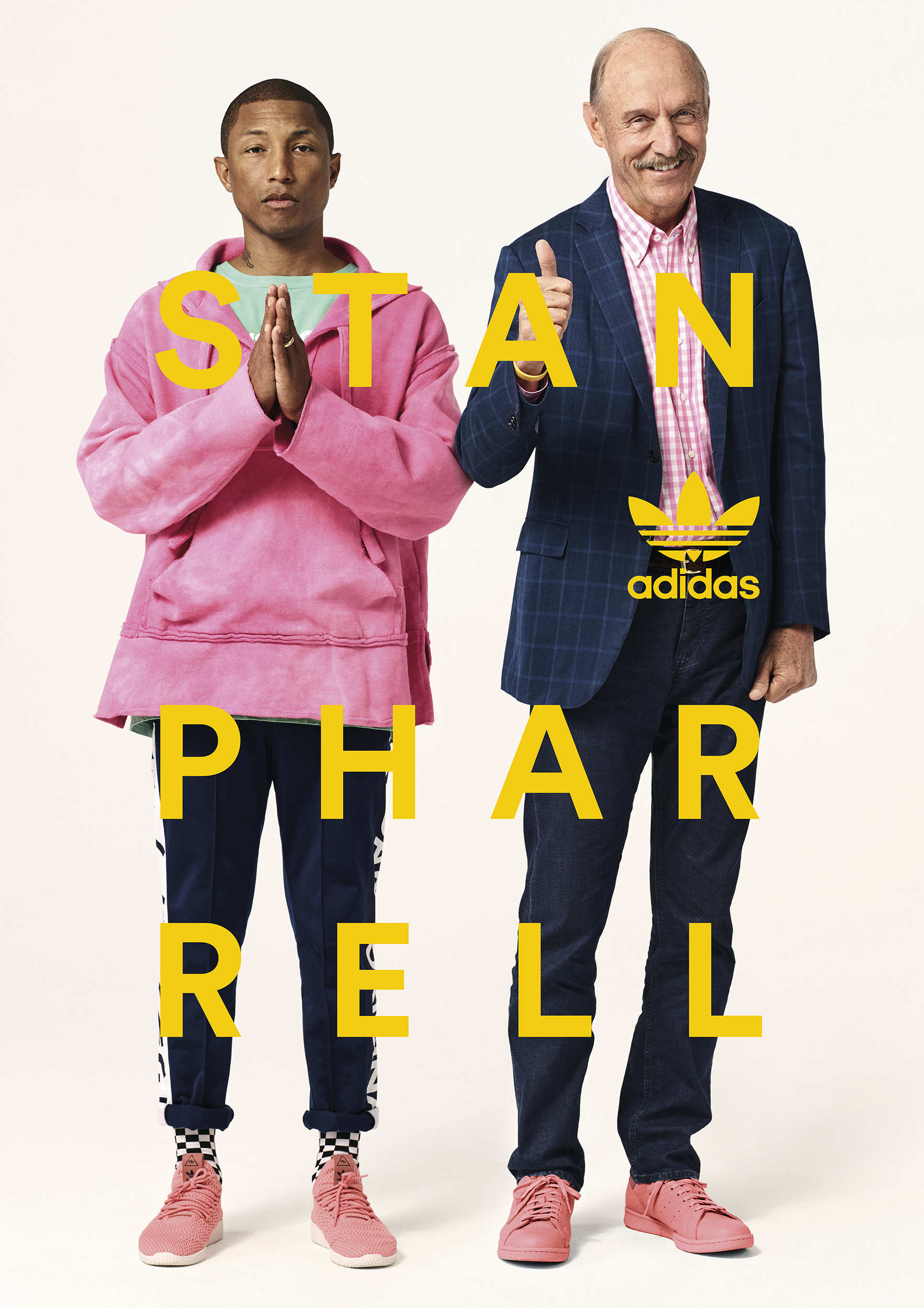 adidas Originals = PHARRELL WILLIAMS - Вдохновленные Original, переосмысленные Фарреллом