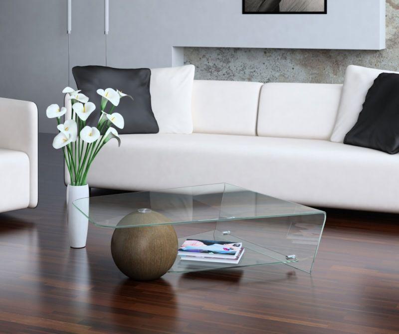Журнальные столики в интерьере квартиры