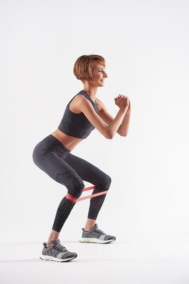 Упражнения с фитнес-резинкой, ТОП-5 от Мирославы Ульяниной