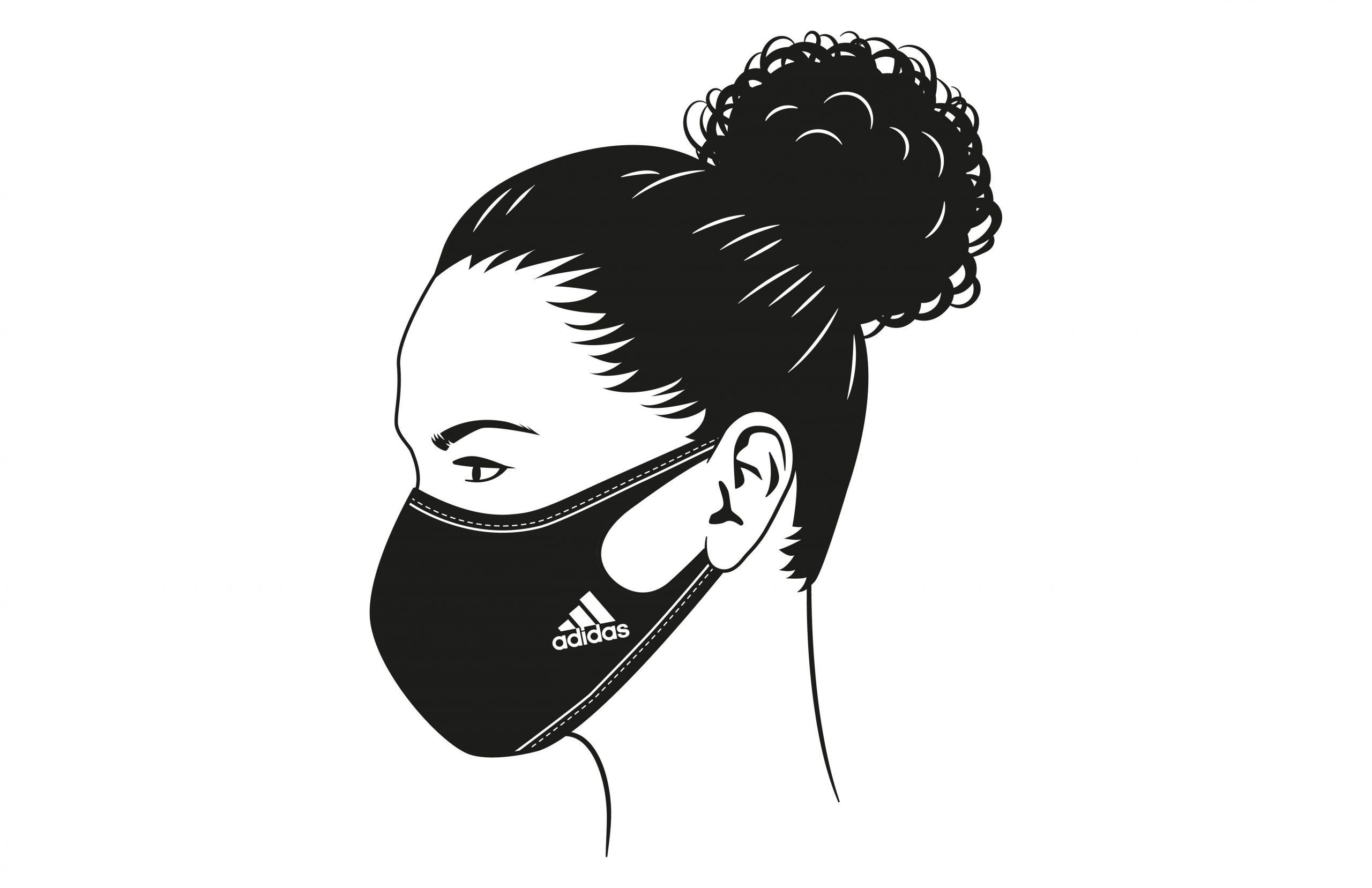 защитная маска для лица Adidas